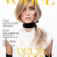 Delta Goodrem Covers Vogue Australia