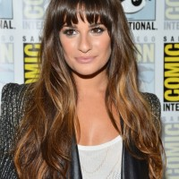 Lea Michele Gorgeous At Comic Con