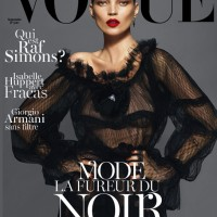 Kate Moss, Lara Stone & Daria Werbowy Cover Vogue Paris September 2012