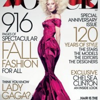 Lady Gaga Covers Vogue Magazine's September 2012 Issue