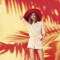 Cara Delevingne Reserved Spring/Summer 2013 Campaign