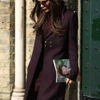 Victoria Beckham is Pretty in Plum