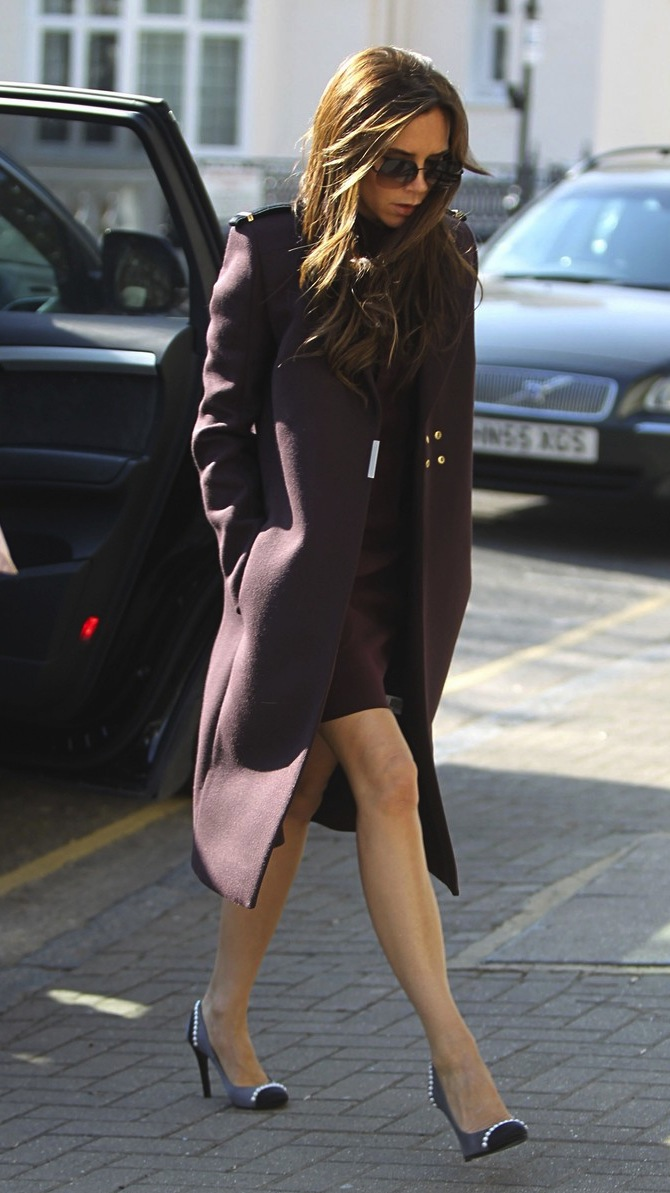 Victoria Beckham Searches For A School