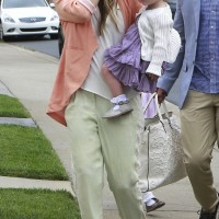 Jessica Alba is Pretty in Pastels