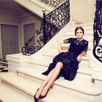 Olivia Palermo Models The Carrera y Carrera Collection