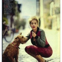 Rita Ora Covers Vogue in Jean-Michel Cazabat Elle Pumps