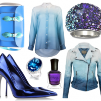 Blue, Purple & Metallic Inspirations
