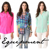 Equipment Silk Shirts & Blouses