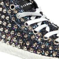 Gienchi Multi Glitter Studded Hi Tops