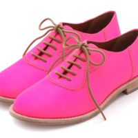 Marc by Marc Jacobs Pink Oxfords