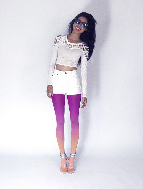 ombre tights 10