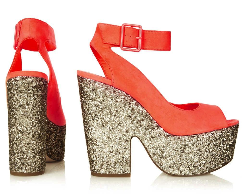 topshop-star-ankle-strap-platform-glitter-orange