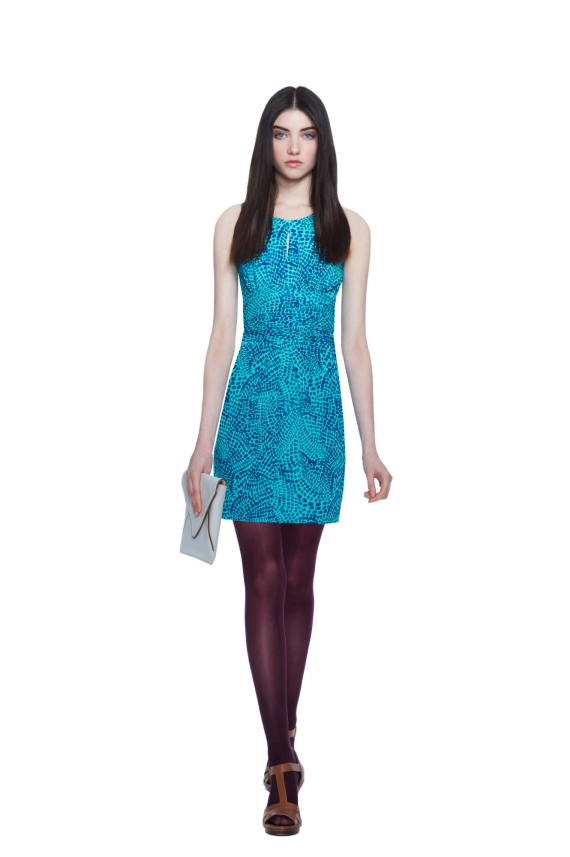 Banana-Republic-Issa-London-Ceramic-Blue-Dress