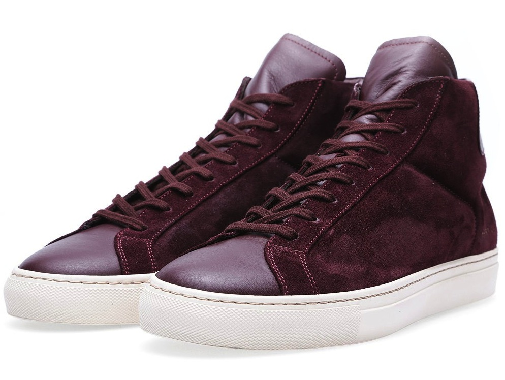 Common Projects Vintage High Oxblood