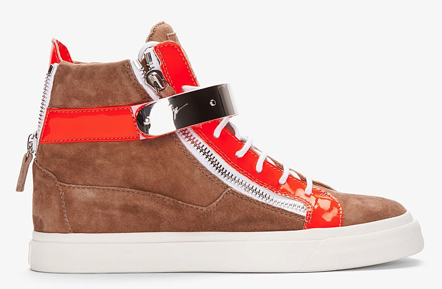 Giuseppe-Zanotti-Beige-Orange-London-Sneaker
