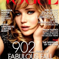 Jennifer Lawrence Covers Vogue Magazine September 2013