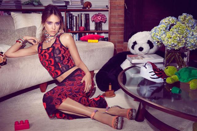 Jessica Alba for InStyle Magazine 2013-002