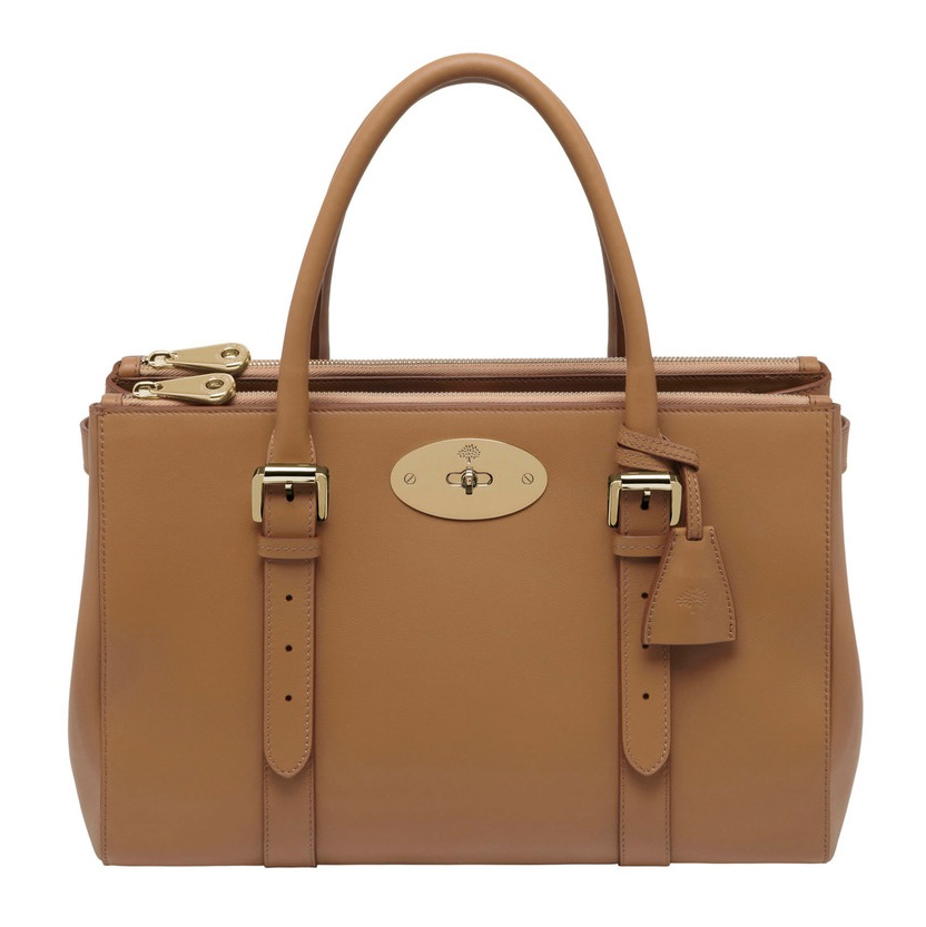mulberry-double-zip-tote-deer-brown