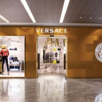 New Versace Boutique In Singapore