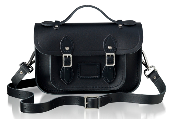 CAMBRIDGE SATCHEL MINI BLACK