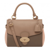 Mulberry Primrose Bag in Mushroom Grey, Taupe & Ballet Pink