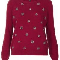 Topshop Embellished Knitwear