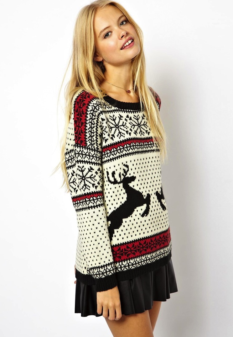 womens christmas jumpers dresses