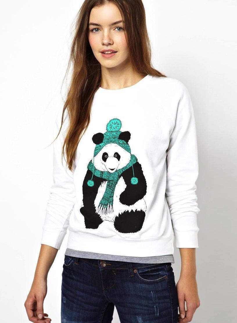 christmas jumper brat & suzie panda