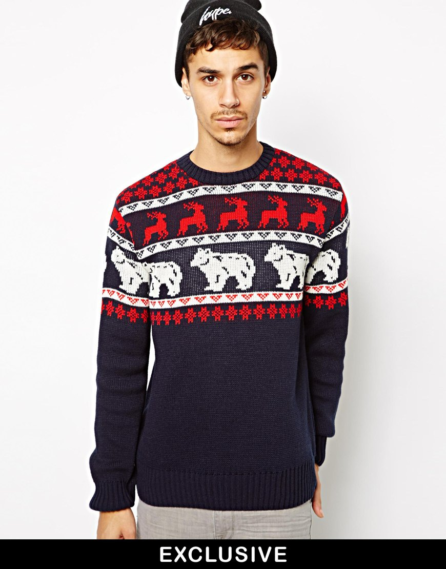 10 Stylish Fashionable Christmas Jumpers Sweaters For Men The