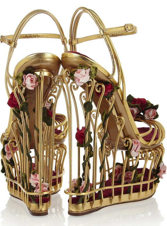 dolce-gabbana-rose-cage-gold-sandals
