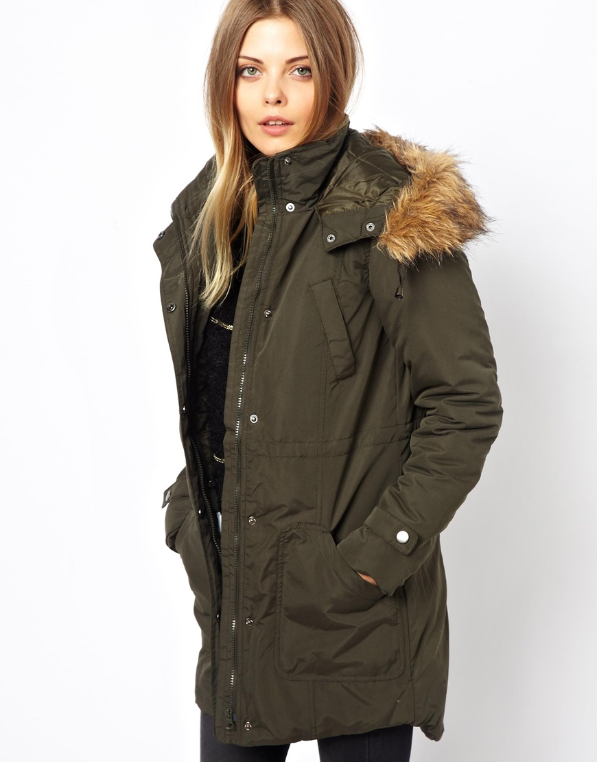 10 amazing parka coats jackets for women the fashion. Black Bedroom Furniture Sets. Home Design Ideas