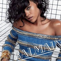 Rihanna's The Face Of Balmain's Spring Summer 2014 Campaign