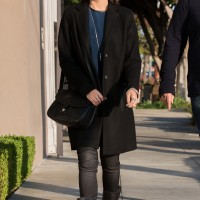 Camilla Belle grabs lunch in Lia Sophia Jewellery & DL1961 Jeans