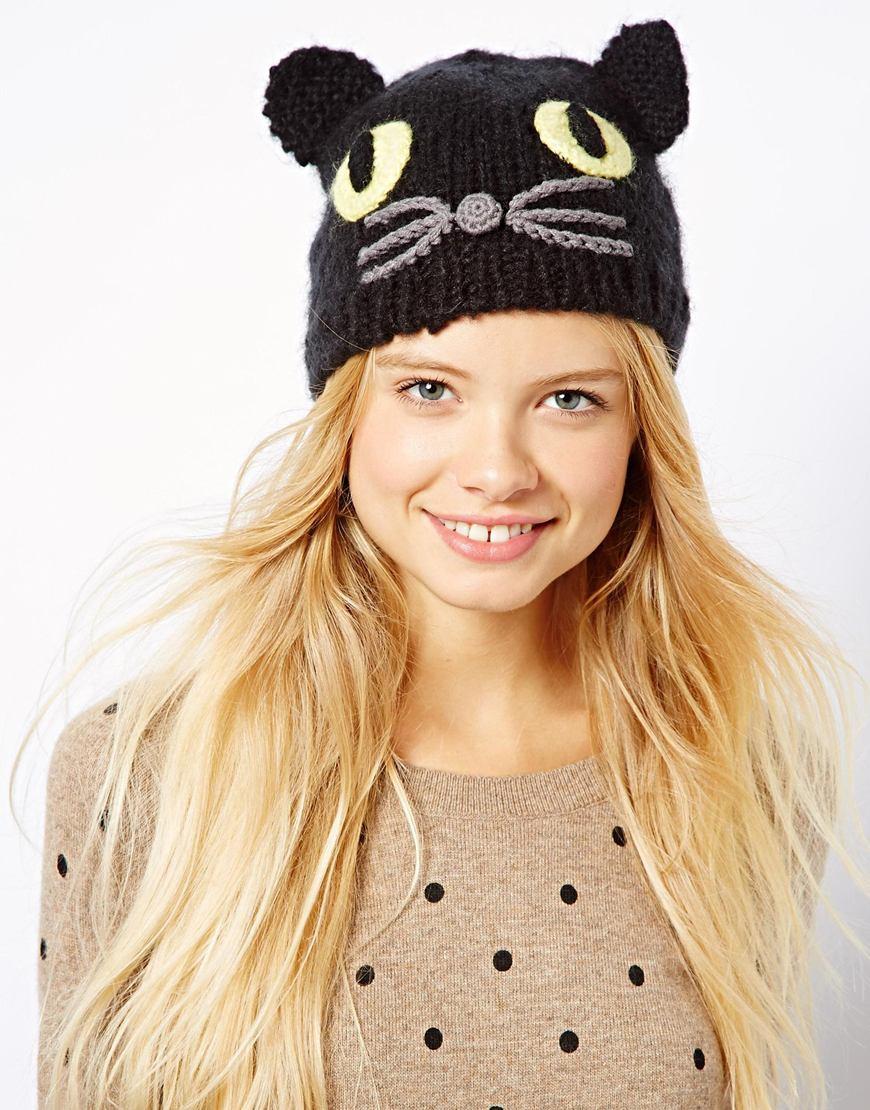 asos-cat-knit-beanie