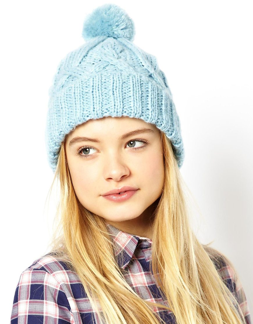 asos-pastel-blue-beanie