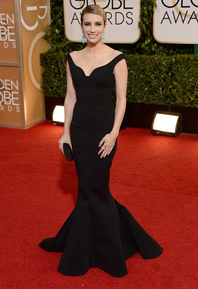 Who Wore What At The Golden Globes 2014 The Fashion