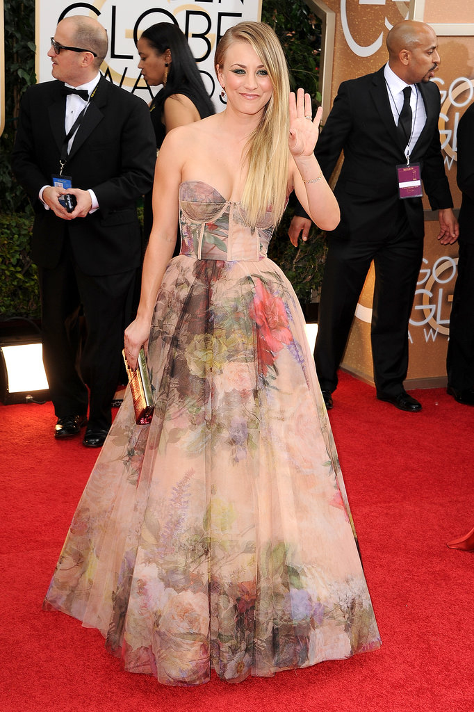 golden-globes-2014-kaley-cuoco