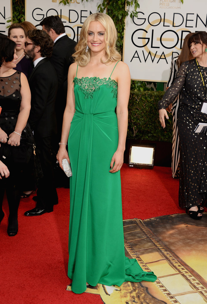 Who Wore What At The Golden Globes 2014 | The Fashion ...Taylor Schilling Golden Globes 2016