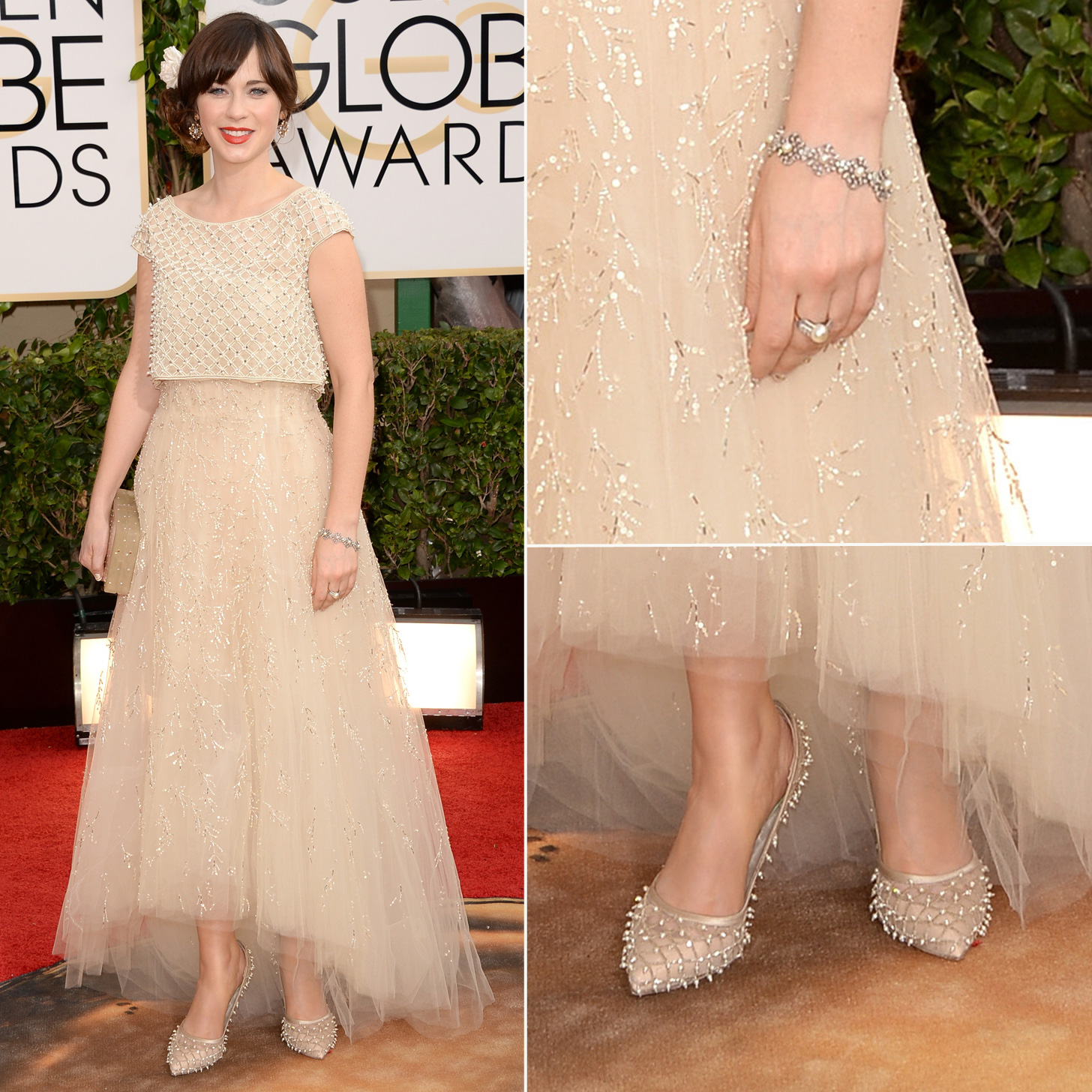 golden-globes-2014-zooey-deschanel
