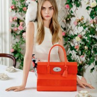 Mulberry Spring Summer 2014 Campaign With Cara Delevingne