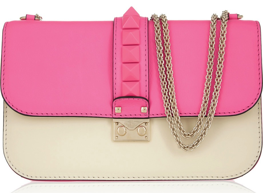 Valentino Pink Shoulder Bag 16
