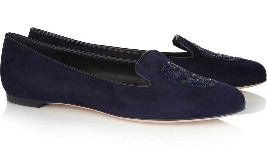 alexander-mcqueen-sequin-skull-embellished-suede-slippers