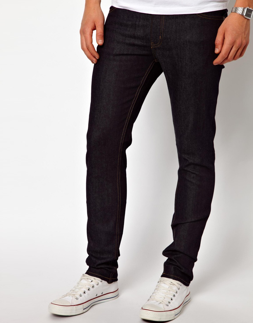 asos-cheap-monday-jeans-tight-skinny-fit-in-blue-dry