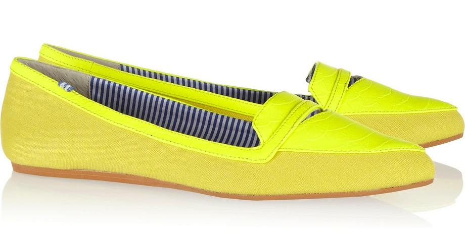 charles-philip-shanghai-inna-two-tone-canvas-yellow-flats