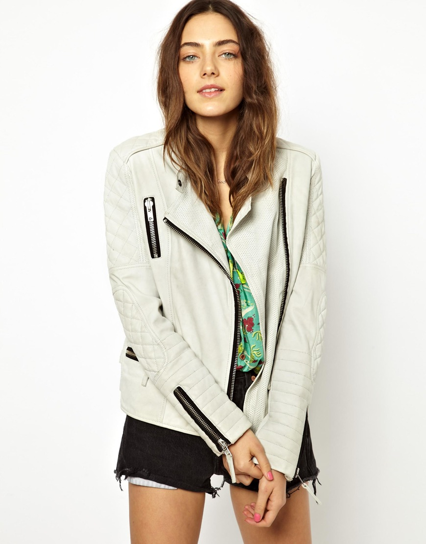 maison-scotch-leather-jacket-green-quilted
