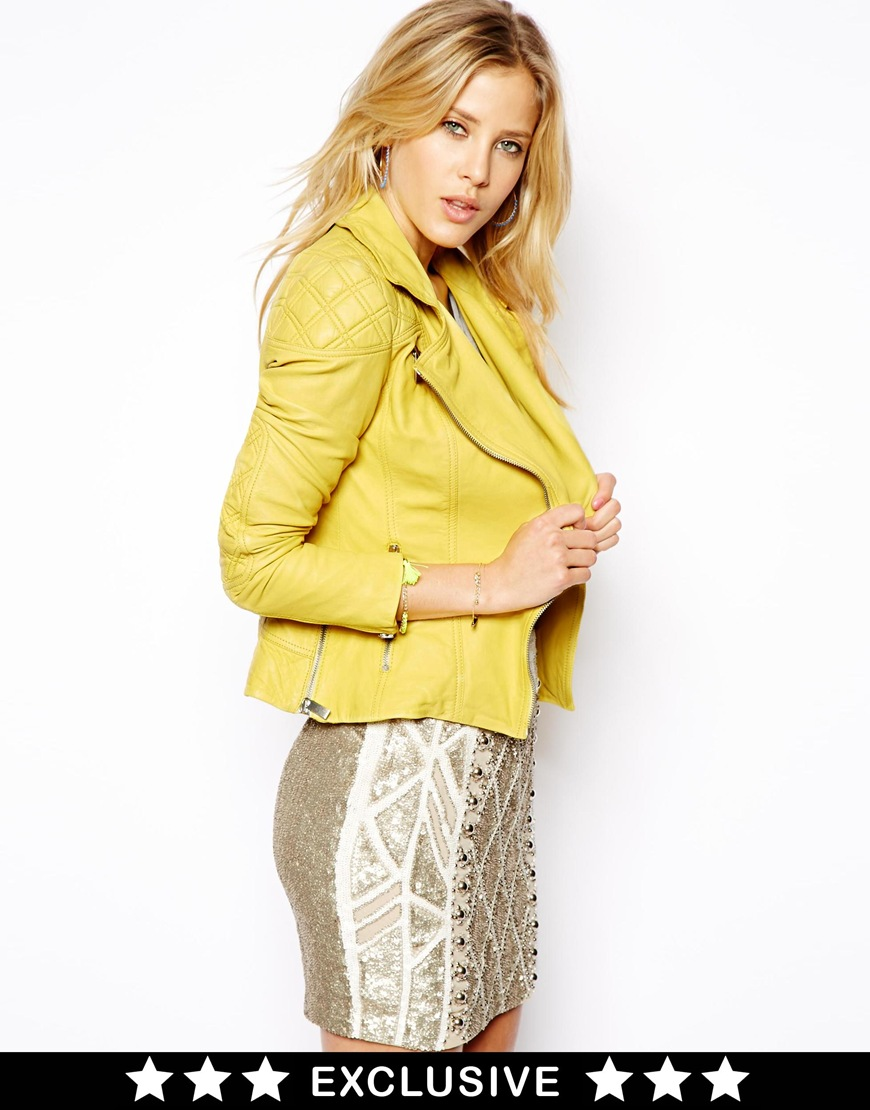 needle-thread-pastel-yellow-leather-jacket