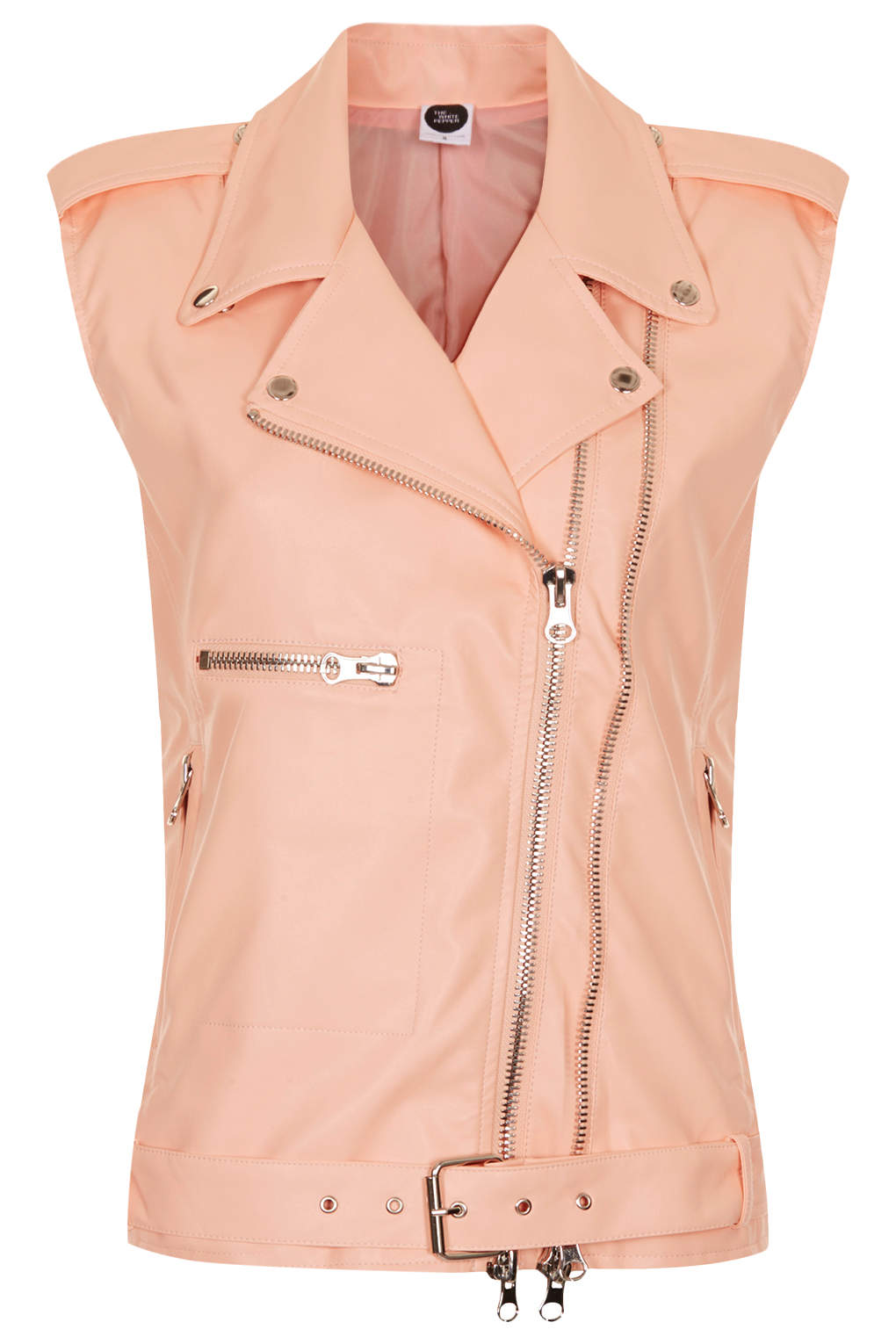 the-whitepepper-leather-biker-vest-orange-peach-apricot