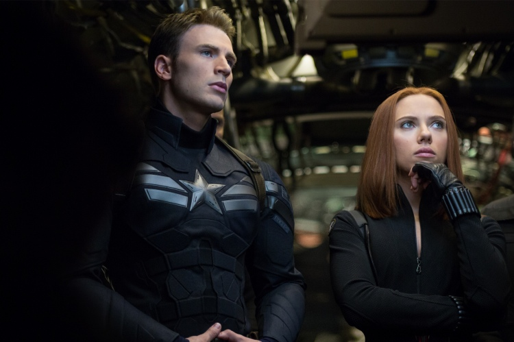 captain america black widow winter soldier