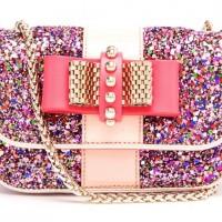 Christian Louboutin Sweet Charity Glitter Shoulder Bag