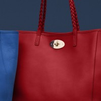 New Mulberry Medium Dorset Leather Totes